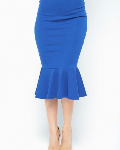 Юбка синяя Malaeva