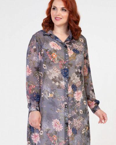 Серая блузка Prima Linea