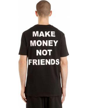 Футболка с логотипом Make Money Not Friends