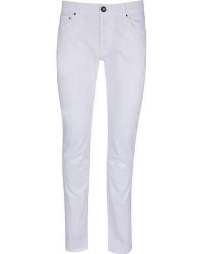 Białe mom jeans Hand Picked