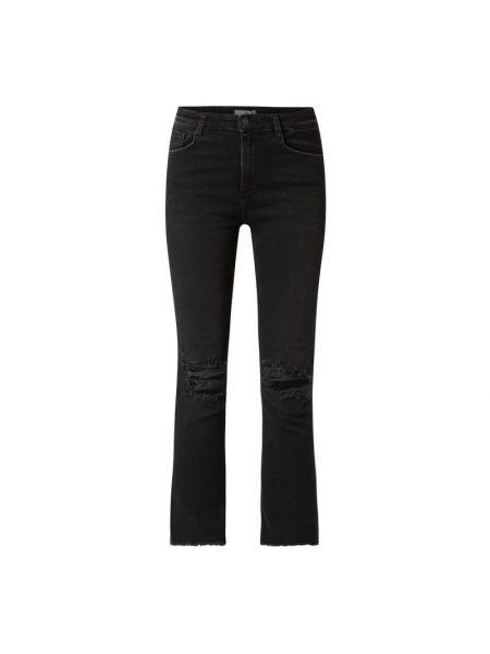 Czarne jeansy bawełniane Ltb