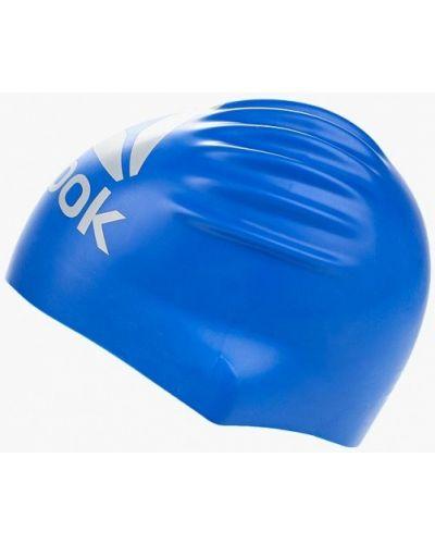 Синяя шапка Reebok