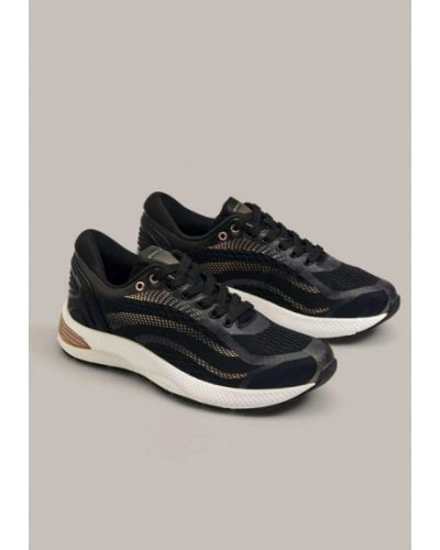 Черные кроссовки Oysho
