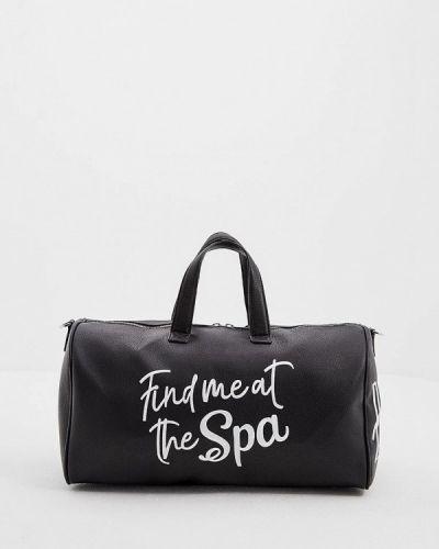 Черная дорожная сумка Chiara Ferragni Collection