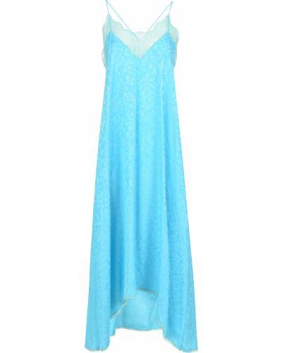 Платье - голубое Zadig & Voltaire