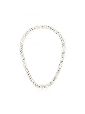 Серебряное ожерелье с бриллиантом Shay