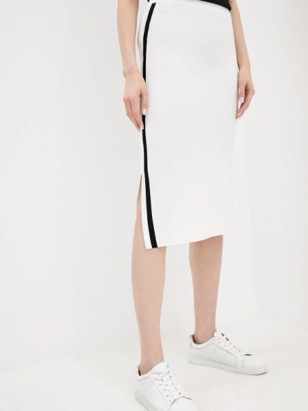 Белая юбка узкого кроя снежная королева