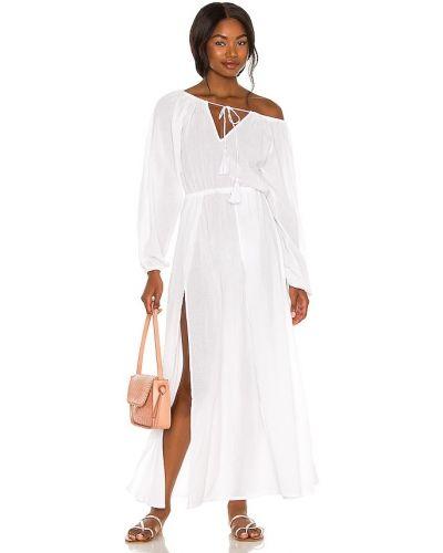 Biała sukienka długa bawełniana Tularosa