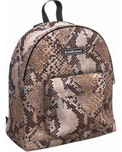 Школьный ранец на молнии с карманами Erich Krause