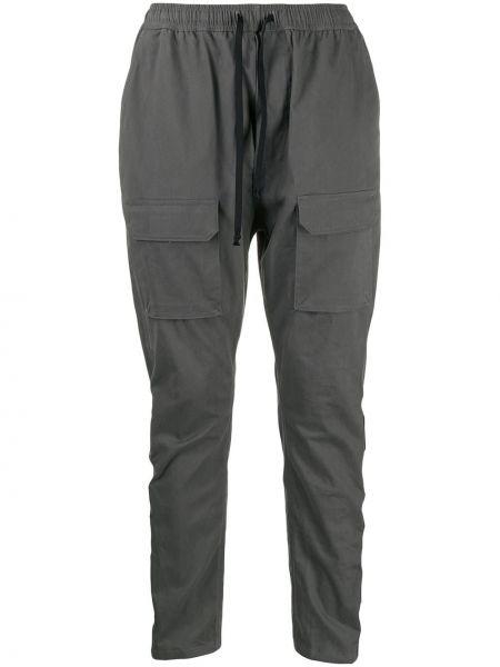 Свободные серые брюки карго с карманами для беременных Not Guilty Homme