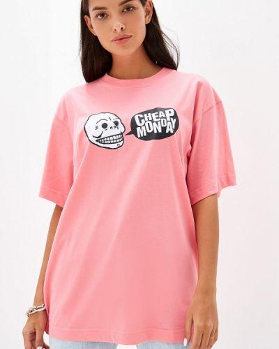 Поло розовый Cheap Monday