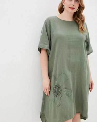 Повседневное зеленое платье Grafinia