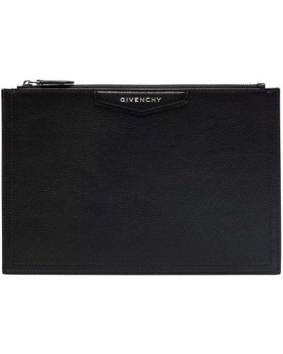 Kopertówka srebrna - czarna Givenchy