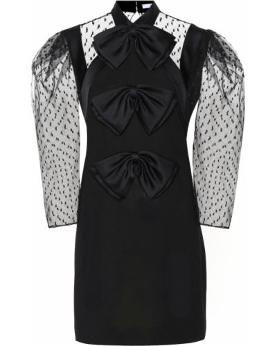 Wełniany czarny sukienka Givenchy