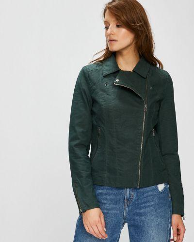 Утепленная куртка укороченная прямая Only