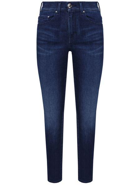 Зауженные джинсы-скинни с нашивками с карманами на пуговицах Jacob Cohen