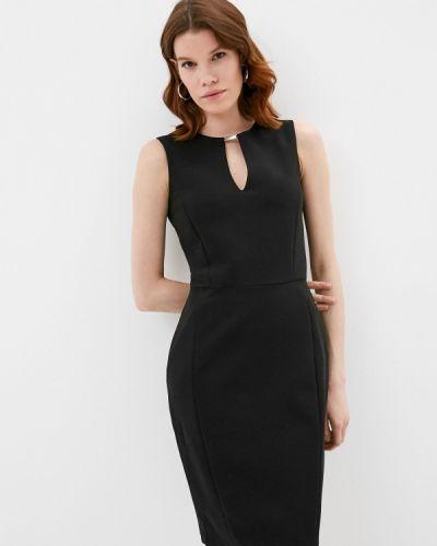 Черное платье-футляр Trussardi