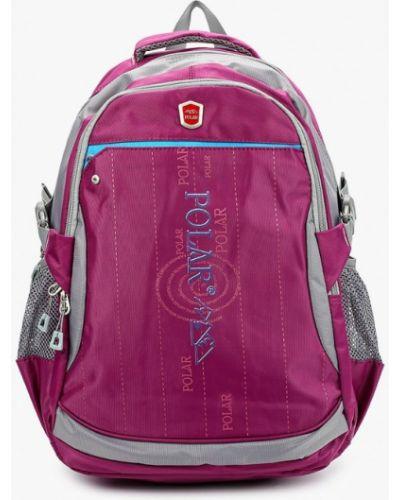 Текстильный фиолетовый рюкзак Polar