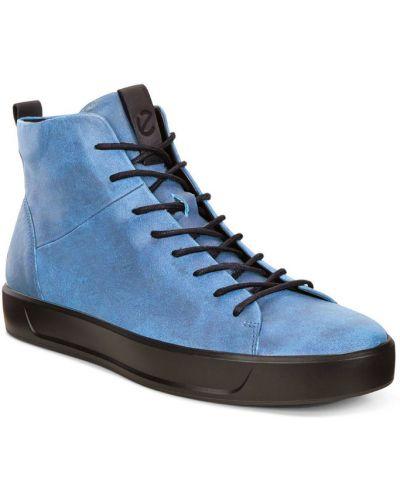 Высокие кеды кожаный для обуви Ecco