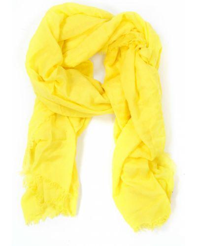 Желтый платок из вискозы Passigatti