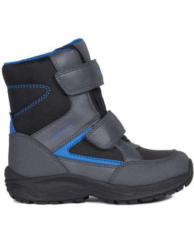 Ботинки мембранные черные Geox