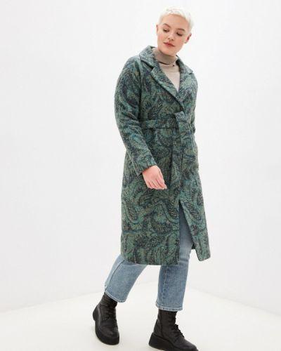 Пальто - зеленое Grafinia