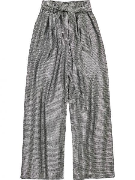 Spodnie srebrne Christopher Kane