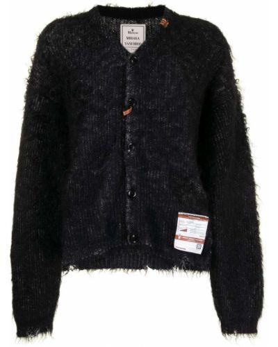 Czarny sweter moherowy Maison Mihara Yasuhiro