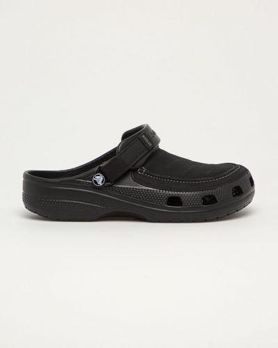 Chodaki na obcasie - czarne Crocs