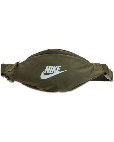 Zielony pasek z paskiem Nike