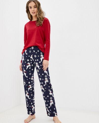 Пижамная красная пижама Marks & Spencer