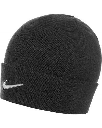 Шапка спортивная с отворотом с логотипом Nike