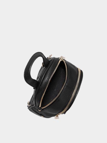 Черный кожаный рюкзак трансформер Michael Kors