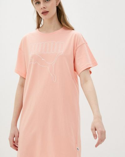 Розовое сарафан Puma