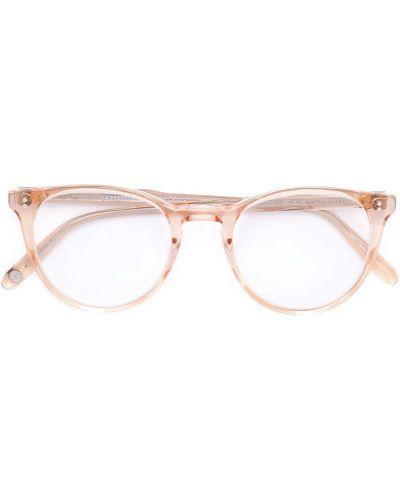 Бежевые очки Garrett Leight