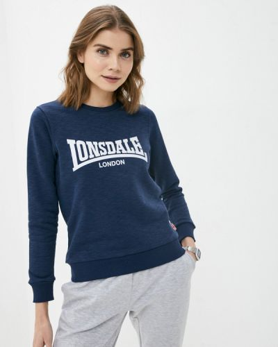 Синий свитшот Lonsdale