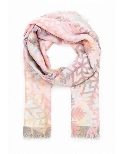 Розовый палантин итальянский Venera
