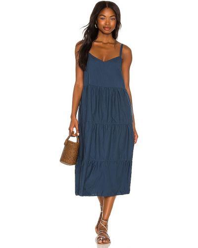 Синее платье рубашка Nation Ltd