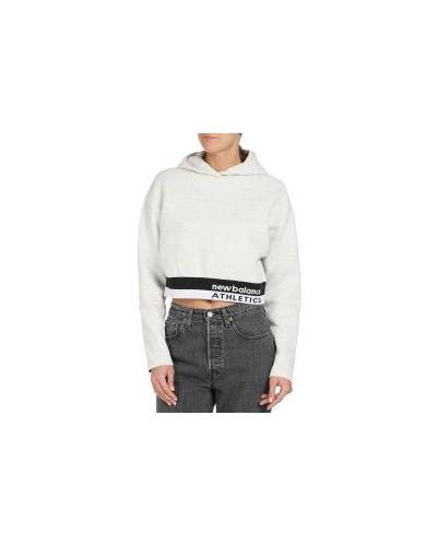Серый свитер New Balance
