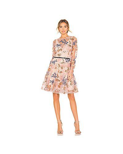 Платье мини с пайетками с вышивкой Bronx And Banco