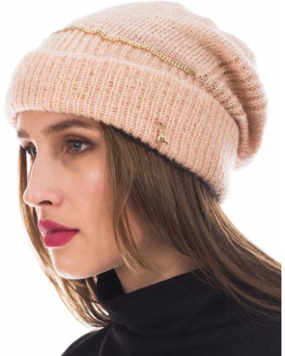 Розовая шапка осенняя Patrizia Pepe