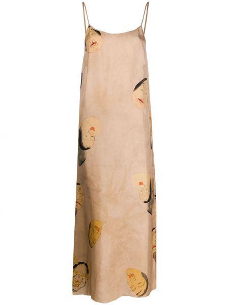 Sukienka chudy z paskiem Uma Wang