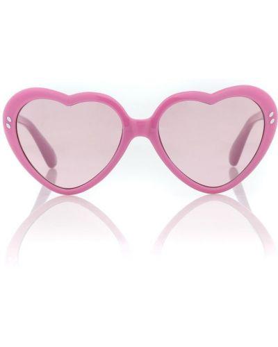 Różowy okulary przeciwsłoneczne Stella Mccartney Kids