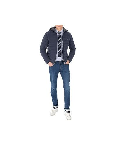 Синяя демисезонная куртка Harmont&blaine