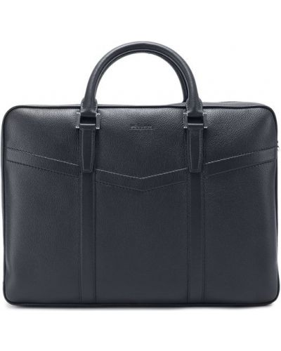 Кожаная сумка для ноутбука Kiton