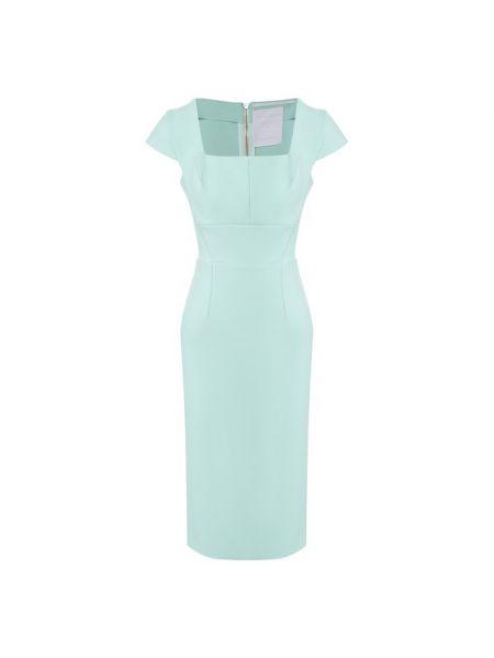 Платье из вискозы с подкладкой Roland Mouret