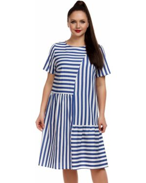 Платье мини макси в полоску Liza Fashion