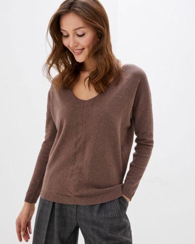 Коричневый пуловер Vilatte