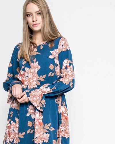 Платье миди из вискозы свободного кроя Vila