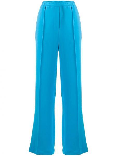 Свободные брюки с карманами свободного кроя с высокой посадкой из вискозы Alysi
